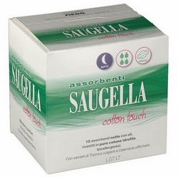 Saugella Cotton Touch Sanitary Towels Night