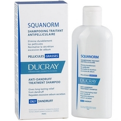 Ducray Squanorm Anti-Dandruff Fat Shampoo 200mL