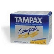Tampax Compak Regular Tampons