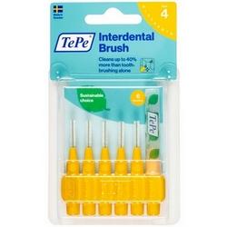 TePe Interdental Brush 4 Yellow 6Pieces