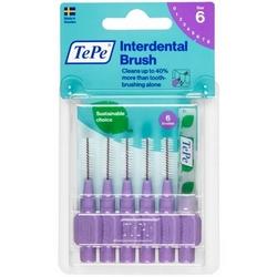 TePe Interdental Brush 6 Violet 6Pieces