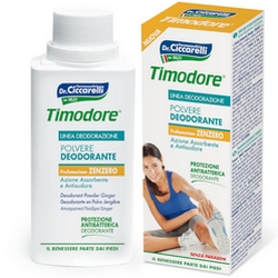 Timodore Deodorant Powder Fragrance Ginger 75g