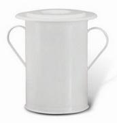 Vase for Incontinence White