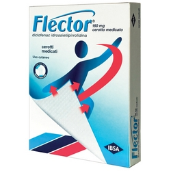 Flector Medicated Plasters 10x180mg - Product page: https://www.farmamica.com/store/dettview_l2.php?id=10609