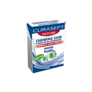 Curasept DayCare Chewing Gum Cold Mint 28g - Product page: https://www.farmamica.com/store/dettview_l2.php?id=9386